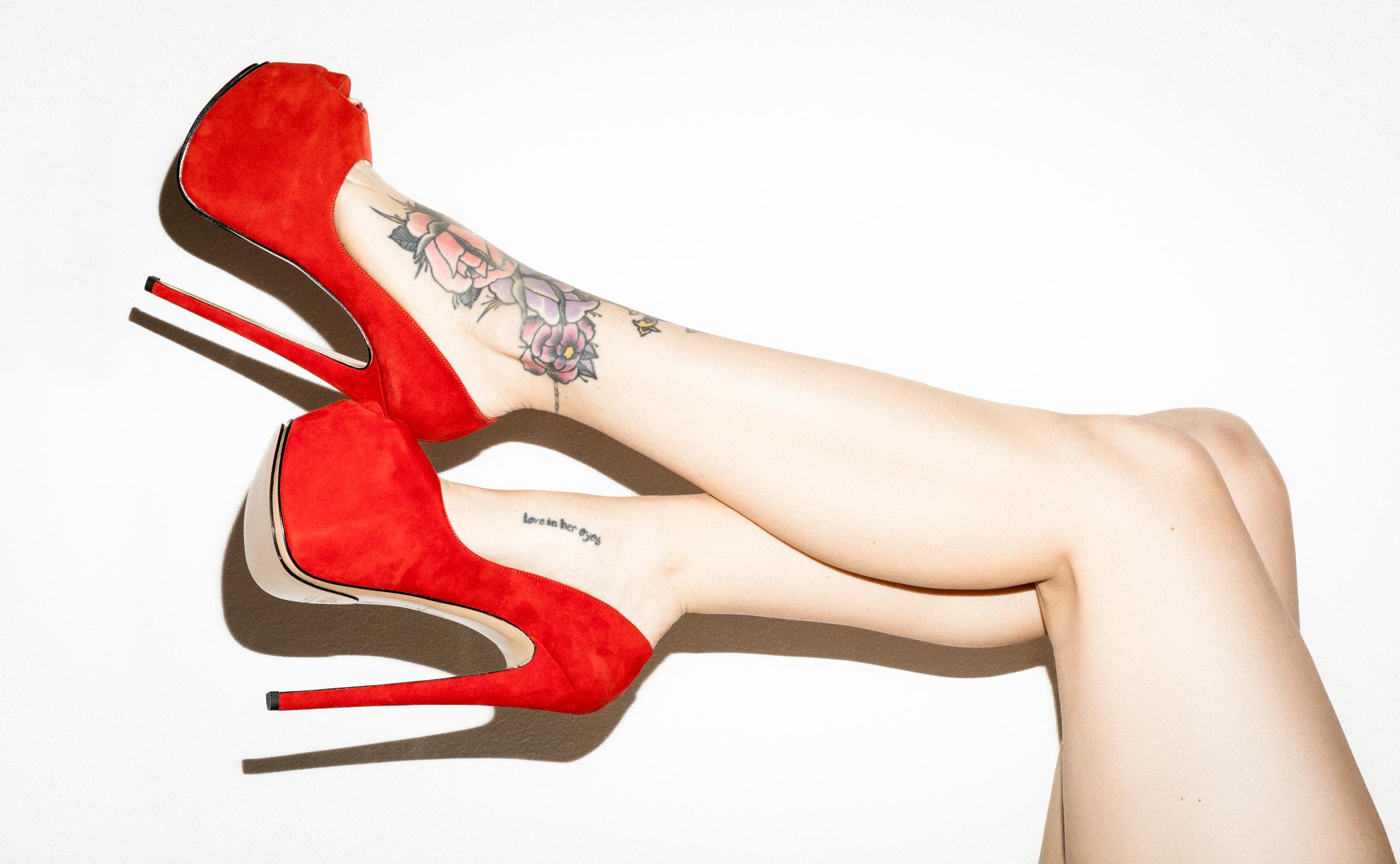 Bernd Serafin Thaler Campaign Shoes Diva 180