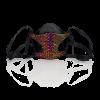 Bernd Serafin Thaler Miss Rona Crystal Couture Mask Volcano
